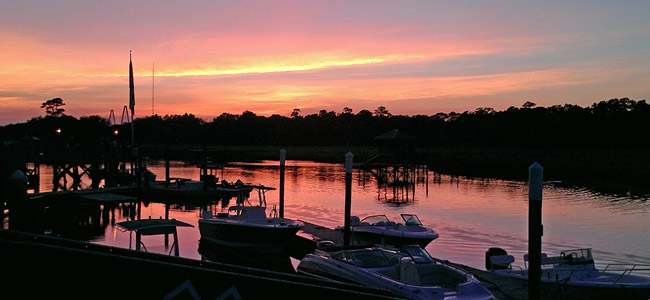 Beautiful Charleston area Waterways
